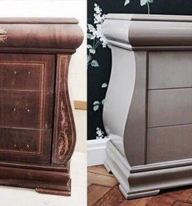 Реставрируем и ремонтируем мебель.
