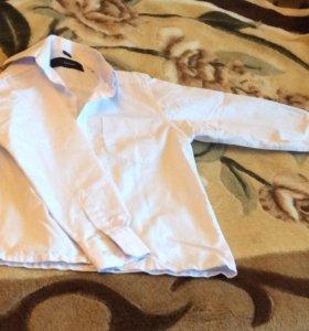 Две белоснежные рубашки Zecchi