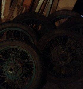 Колеса на мотоцикл Урал