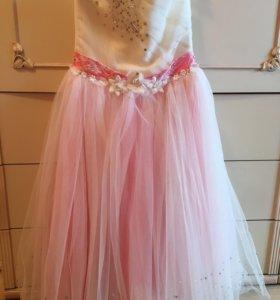 Платье для девочки ( 5-9 лет)