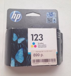 Оригинальный картридж HP 123