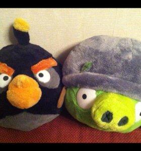 Angry birds. Новые, Мягкие игрушки