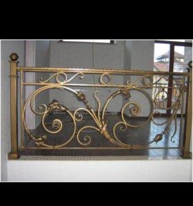 Двери перила ангары лестницы ворота