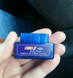 Сканер ODB2 V2.1 с диском.