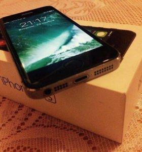 Продам iPhone 5s space gray