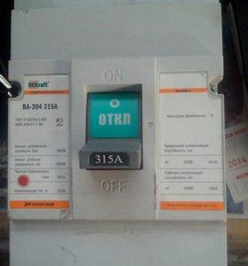 Трех фазный автомат ВА 304-315 DEKraft