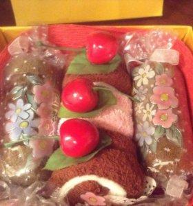 Подарочный набор полатенец