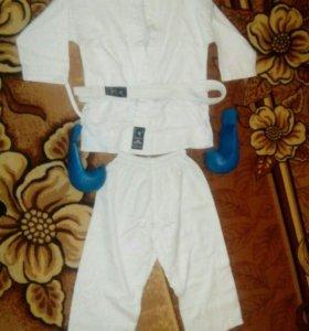 Кимоно с перчатками