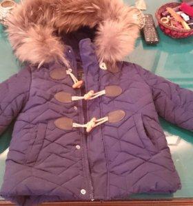 Зимняя куртка на малыша