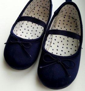 Балетки туфли h&m 20-21размер