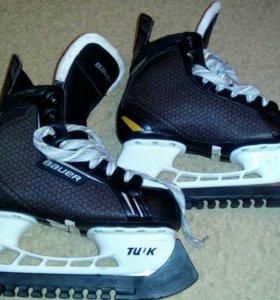 Коньки хоккейные Bauer pro 39 размер