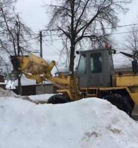 Услуги по уборке территорий от снега