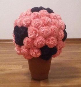 Букет Роз из солфеток