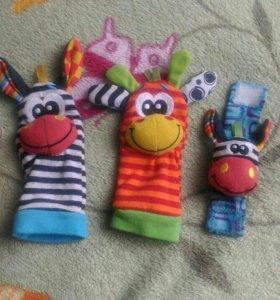 Детские развивающие игрушки Playgro0+