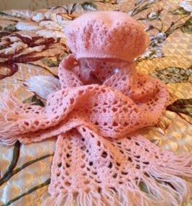 Комплект ( берет + шарф)