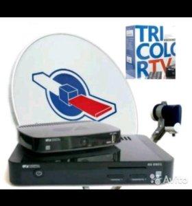 Триколор Full HD на два телевизора