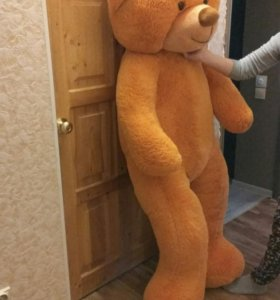 Плюшевый мишка 165 см рост.