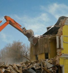 Демонтаж,стен,конструкций.
