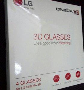 Очки 3D для телевизора LG