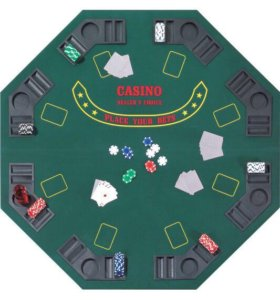 Столешница для покера складная