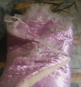 Одеяло-конверт зимннее