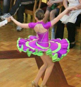 Платье для бальных танцев Юниоры 1 Латина