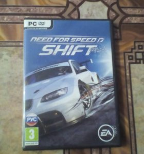 Диск с игрой NFS SHIFT