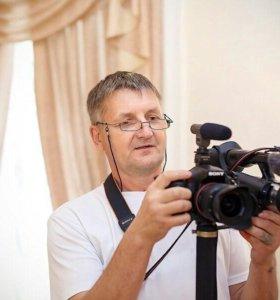Фото видеосъёмка любых мероприятий