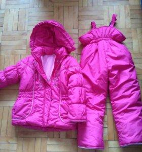 Комплект куртка+комбинезон