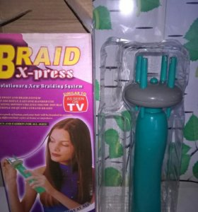 Прибор для плетения кос