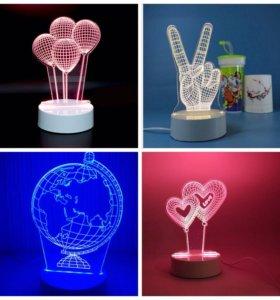 Светильники 3D