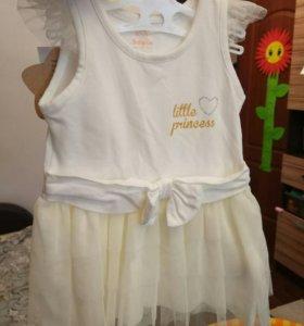 Новое Платье baby go р80