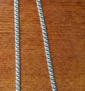 Серебряная мужская цепь