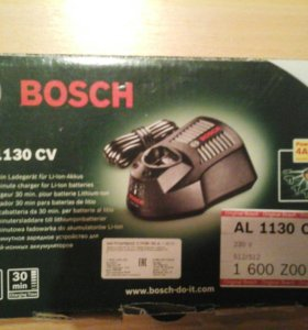 Зарядное устройство Bosh AL 1130 CV Professional
