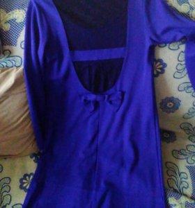 Платье для беременных или крупных женщин