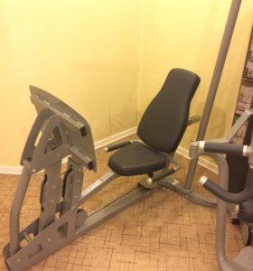 Life fitness G4+GLP с приставкой для ног