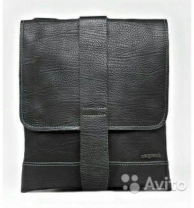 Кожаная сумка malgrado 09271black
