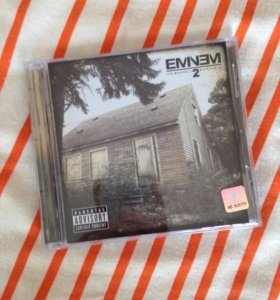 CD Eminem The Marshall Mathers LP 2 (лицензионный)