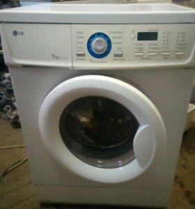 LG 5 кг стиральная машинка