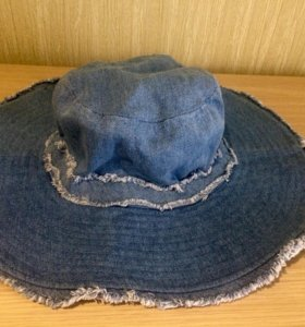 Джинсовая шляпа Zara
