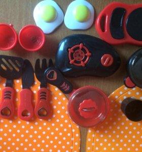 Посуда детская игрушки