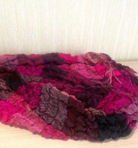 Объёмный, тёплый шарф