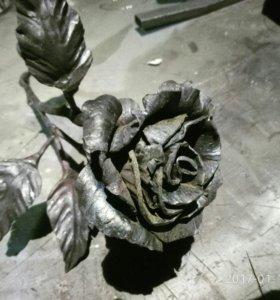 Кованые розы