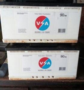 Аккумуляторы VSA 90Ah