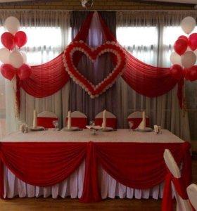 Декор свадеб эконом