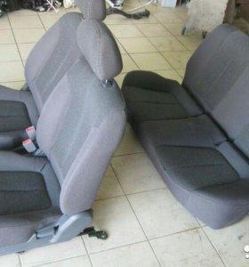 Сиденья на Hyundai Accent