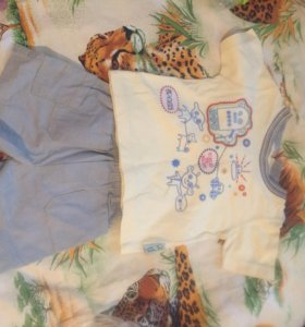 Одежда пакетом для ребёнка от 8мес до 1,5
