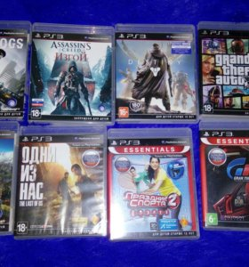 Playstation 3+ps move+ игры