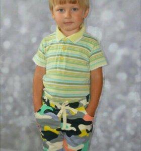 Модные шортики на мальчика