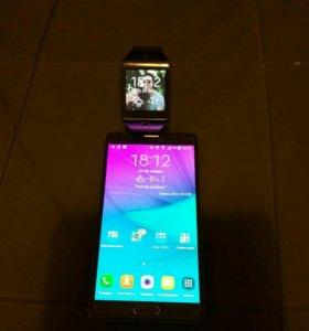 Samsung Galaxy Note 4 и Samsung gear 2 neo